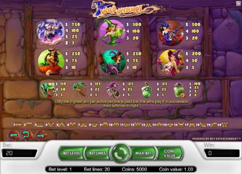 Wild Witches review on Review Slots