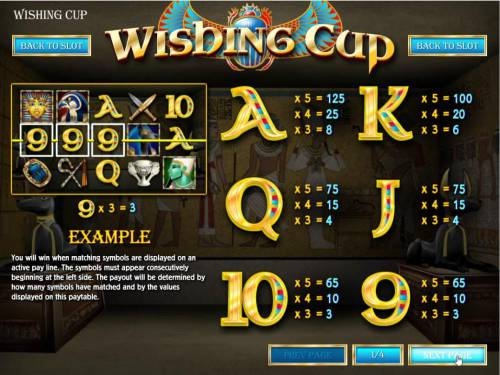 Wishing Cup review on Review Slots