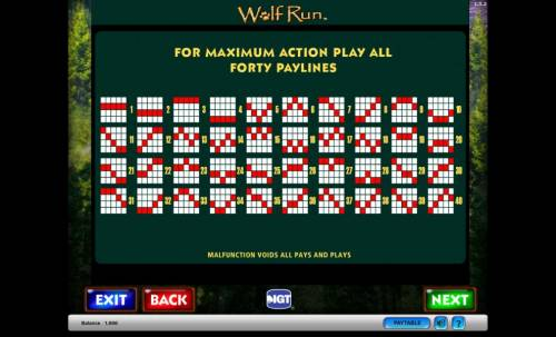 Wolf Run Review Slots Wolf Run for Maximum Action Play all Forty Paylines