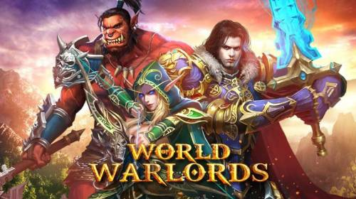 World of Warlords Review Slots Splash screen - game loading - Chinese mythology