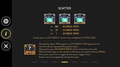World of Warlords Review Slots Scatter Symbol Rules