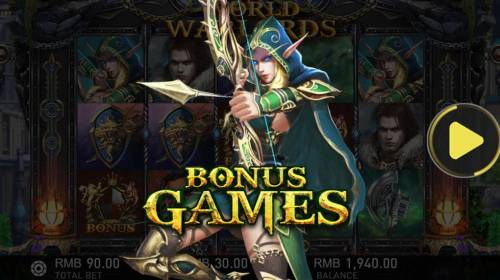 World of Warlords Review Slots Bonus Game