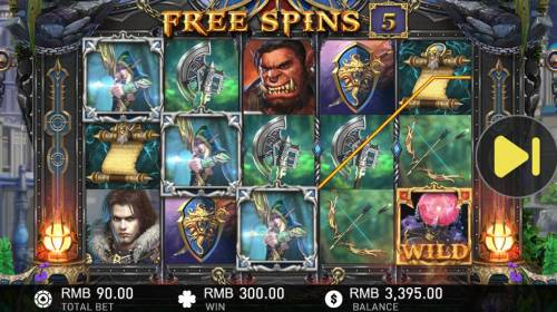 World of Warlords Review Slots Multiple winning paylines