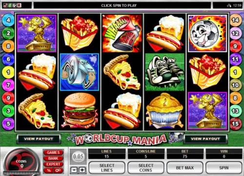 World Cup Mania review on Review Slots
