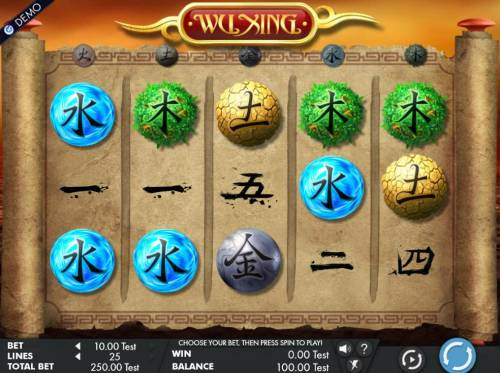 Wu Xing review on Review Slots
