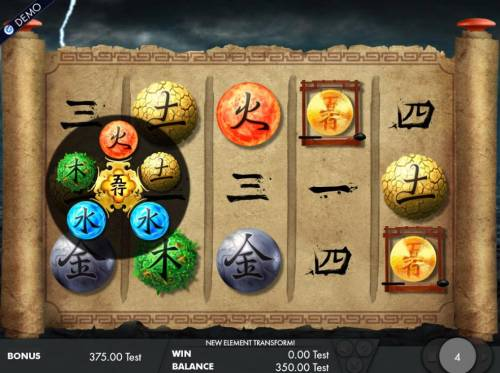 Wu Xing Review Slots Landing two or more Gong scatter symbols during the free spins allows you to pick another element.