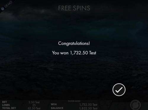Wu Xing Review Slots The Free Spins feature pays out a total of 1,732.50.
