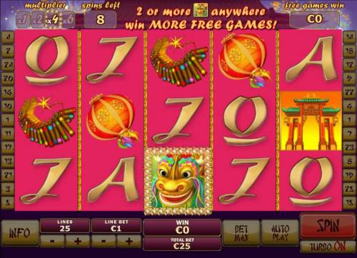 Wu Long Review Slots Free Games feature game board