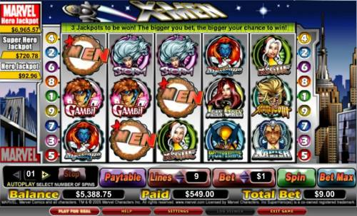 X-Men review on Review Slots