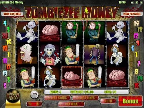 Zombiezee Money review on Review Slots