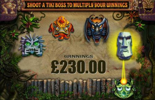 Zuma Slots Review Slots Shoot the Tiki Boss to multiply your free spin winnings