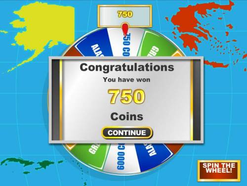 Baby Boomers Cash Cruise Review Slots bonus feature pays out 750 coins fo a big win