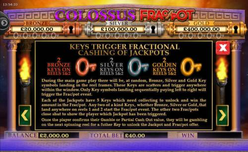 Colossus Fracpot Review Slots Feature Rules