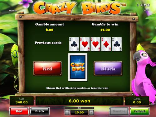Crazy Birds Review Slots Gamble Feature Game Board