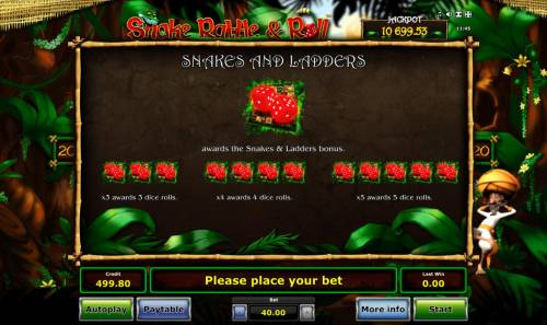 Snake Rattle & Roll Review Slots Snakes and Ladders Rules
