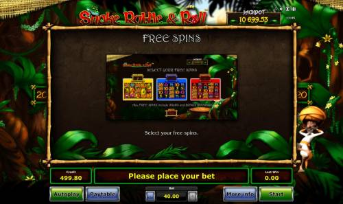 Snake Rattle & Roll Review Slots Free Spins Rules
