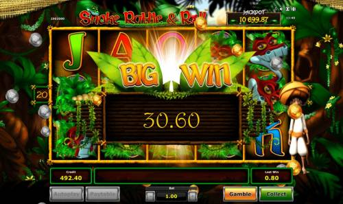 Snake Rattle & Roll Review Slots Big Win