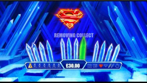 Superman the Movie Review Slots Finding the Superman shield will remove one of the green crystals.