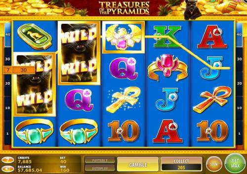 Treasures of the Pyramids review on Review Slots