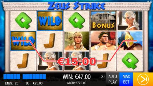 Zeus Strike Review Slots Four of a kind